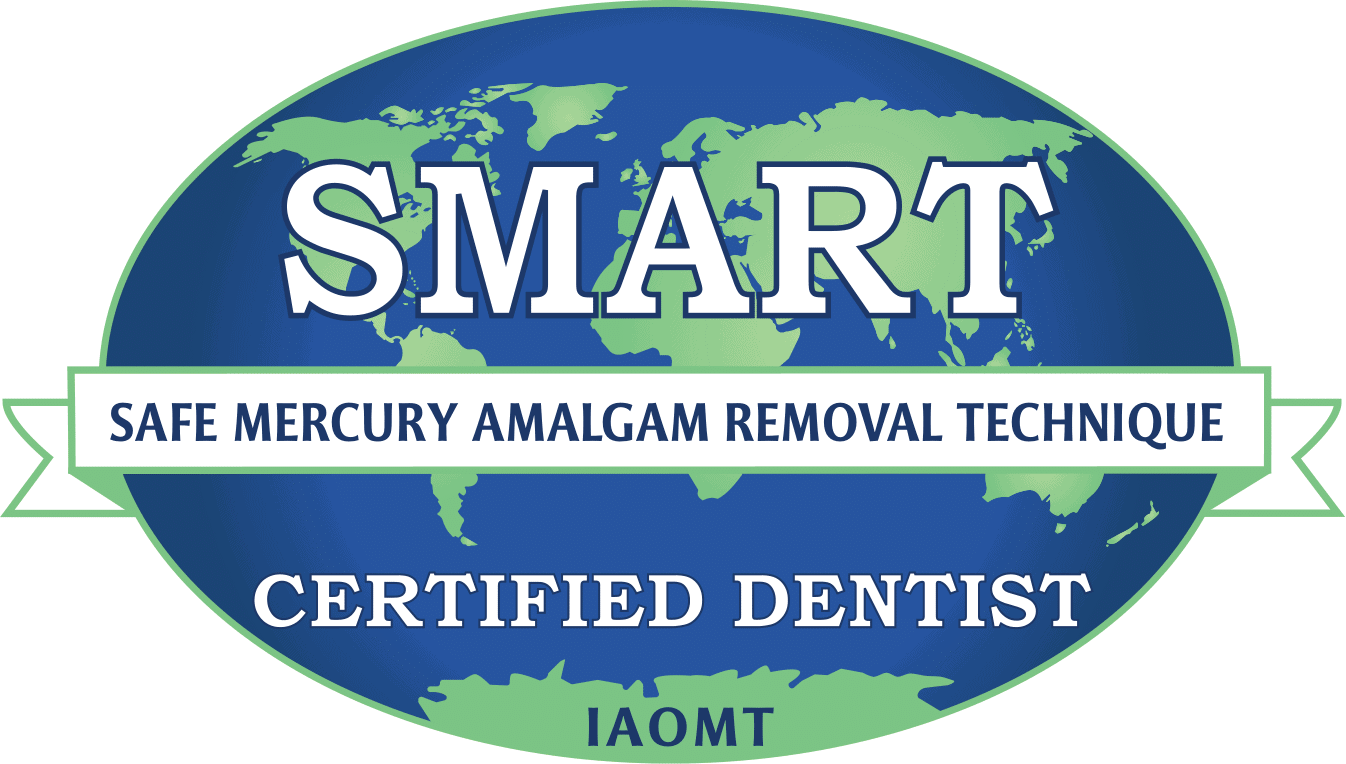 Logo SMART Safe Mercury Amalgam Removal Technique IAOMT