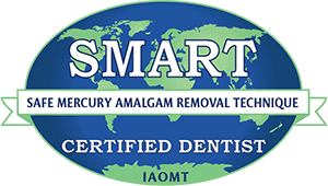 Logo small SMART Safe Mercury Amalgam Removal Technique IAOMT